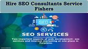 Hire SEO Consultants Services Fishers