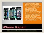 Excellent iPhone Repair Shop Abu Dhabi-Total Care Repair