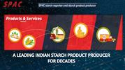 A leading Indian starch product producer for decades
