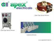 close type variac manufacture & supplier -  Apex Electricals