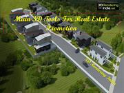 Main 3D Tools For Real Estate Promotion - 3D Rendering India
