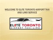 King City Airport Taxi , Private Car Service Toronto - elitegtalimo