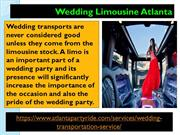 Best Limo Rental Service in Atlanta