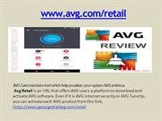install avg with license number - www.avg.com retail