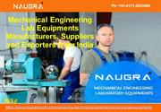 Mechanical Engineering Lab Equipments Manufacturers-Naugra Export