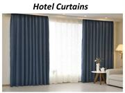 Hotel Curtains In Dubai