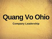 Quang Vo of Ohio - Company Leadership