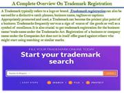 A Complete Overview On Trademark Registration
