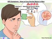 HPV Treatment - How to Cure Genital Warts in Men