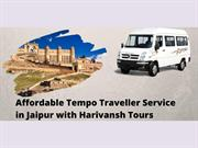 Affordable Tempo Traveller Service in Jaipur with Harivansh Tours