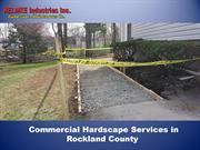 Commercial Hardscape Services Rockland County