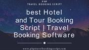 Top Open Source Travel Booking Script | PHP Travel Booking Script