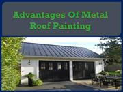 Advantages Of Metal Roof Painting