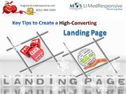 Key Tips to Create a High-Converting Landing Page