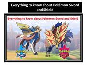 Everything to know about Pokémon Sword andShield