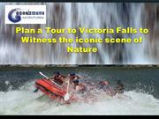 Plan a Tour to Victoria Falls to Witness the iconic scene of Nature