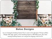 Welcome Sign | Wedding Backdrops| Wedding Backdrop Decorations Banners