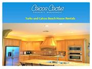 Turks and Caicos Beach House Rentals