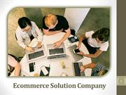Ecommerce Solution Company | Ecommerce Website Design Company