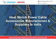 Power Cable Accessories Manufacturers India