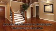 Tips For Decorating a Room With Hardwood Flooring