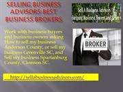 Selling Business Advisors-Best Business Brokers