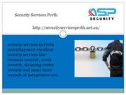 security service perth