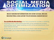 Information on how Social Media Marketing can grow your brand