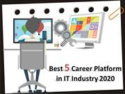 IT jobs platform: Choose your future career path today!