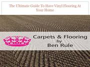 The Ultimate Guide To Have Vinyl Flooring At Your Home