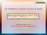 Air Pollution Control System in India