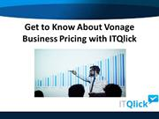 Get to Know About Vonage Business Pricing with ITQlick