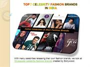 TOP 7 CELEBRITY FASHION BRANDS IN INDIA, EARNING, FILM FEES 2019