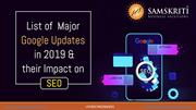 List of Major Google Updates in 2019 and Their Impact on SEO