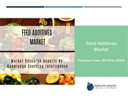Feed Additives Market To Be Worth US$40.108 billion by 2024