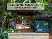 Vallee de Mai Nature Reserve - Savoy Seychelles Resort & Spa