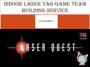 Laser Tag Game Team Building Service