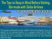 The Tips to Keep in Mind Before Visiting Bermuda with Delta Airlines