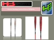 Choose Rawlings Baseball Bats at HB Sports