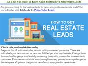 All That You Want To Know About Boldleads Vs Prime Seller Leads
