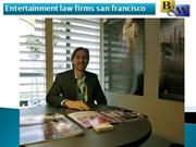 Entertainment law firms san francisco