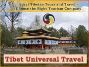 Local Tibetan Tours and Travel - Choose the Right Tourism Company