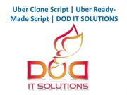 Uber Clone Script | Uber Ready-Made Script | DOD IT SOLUTIONS