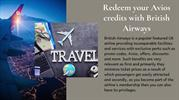 British Airways - Redeem your Avios credits with British Airways