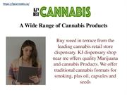 A Wide Range of Cannabis Products - kj cannabis