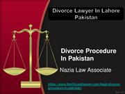 Divorce Procedure In Pakistan |Expert Female Divorce Lawyer