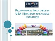 Promotional Inflatable in USA | Branded Inflatable Furniture