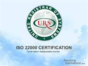 ISO 22000 Certification for Food Safety Audit