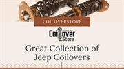 Great Collection of Jeep Coilovers in Canada