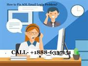 How To Fix AOL Mail Sign In Problem?